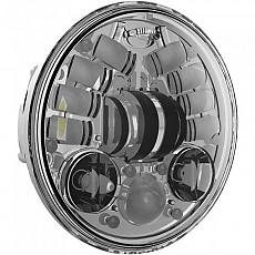 [해외]JW SPEAKER 8690 Led Headlight 5.75´´ Chrome
