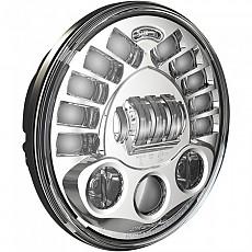 [해외]JW SPEAKER 8791 Adaptive 2 Led Headlight 7´´ Chrome