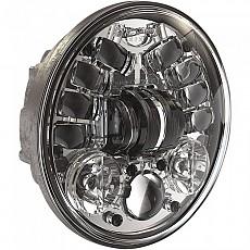 [해외]JW SPEAKER 8690 Adaptive 2 Led Headlight 5.75´´ Chrome