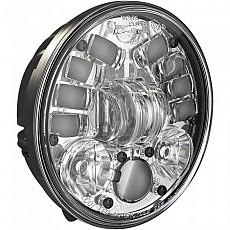 [해외]JW SPEAKER 8691 Adaptive 2 Led Headlight 5.75´´ Chrome