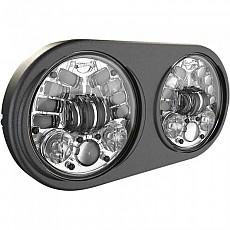 [해외]JW SPEAKER 8692 Adaptive 2 Led 듀얼 Headlight 5.75´´ Chrome
