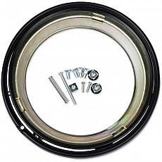 [해외]JW SPEAKER 400 Headlight Mounting Ring Kit Black