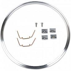 [해외]JW SPEAKER 410 Headlight Mounting Brushed Ring Kit Aluminium