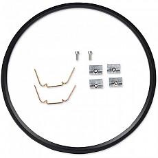 [해외]JW SPEAKER 410 Headlight Mounting Ring Kit Black