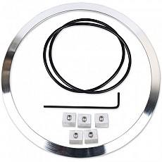 [해외]JW SPEAKER 100 Headlight Mounting Ring Kit Aluminium