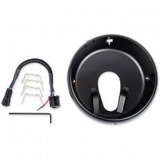 [해외]JW SPEAKER 300 Headlight Mounting Ring Kit Black