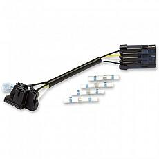 [해외]JW SPEAKER H4 Wire Harness For Round Headlight 7´´ Black