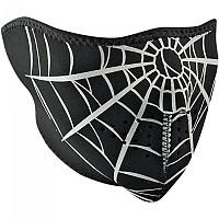 [해외]ZAN 헤드기어 네오prene 하프 Face Mask Spider Web