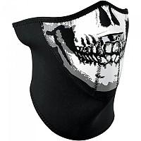 [해외]ZAN 헤드기어 3 Panel 네오prene 하프 Face Mask Skull Face