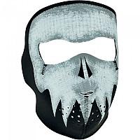 [해외]ZAN 헤드기어 Neoprene Full Face Mask 9137336864 Glow Grey Skull