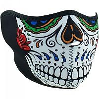[해외]ZAN 헤드기어 Neoprene Half Face Mask 9137336882 Muerte Skull
