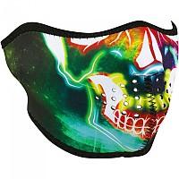 [해외]ZAN 헤드기어 Neoprene Half Face Mask 9137336894 Neon Skull