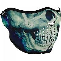 [해외]ZAN 헤드기어 네오prene 하프 Face Mask Paint Skull