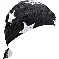 [해외]ZAN 헤드기어 Flydanna 로드 Hog Black / White Flag
