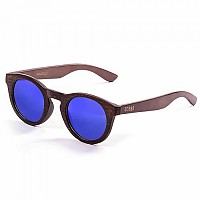 [해외]LENOIR 아이웨어 Dune Bamboo Dark Arm With Bamboo Dark Frame With Blue Revo Lens