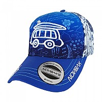 [해외]NONBAK Hawaii Van Cap Trucker Blue