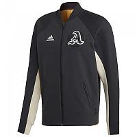 [해외]아디다스 Varsity Jacket Regular Black / Black / Real Gold