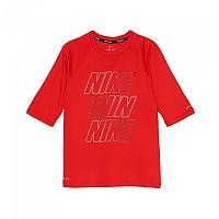 [해외]나이키 SWIM Hydroguard Half Sleeves 8687 University Red