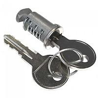 [해외]PERUZZO Lock 위드 Key For Bike Holder Silver