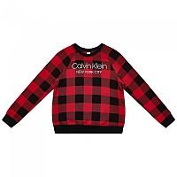[해외]캘빈클라인 언더웨어 Lounge 스웨트shirt 모던 Buffalo Check_Temper