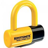 [해외]KRYPTONITE MOTO 에보lution 시리즈 4 Disc Lock Yellow