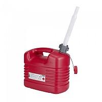 [해외]PRESSOL 퓨얼 Can 10L PE 위드 Flexible Spout Red