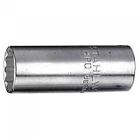 [해외]STAHLWILLE Socket 1/4´´ 3/8´´ 롱 Steel Chrome