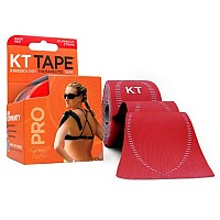 [해외]KT TAPE Pro Synthetic Precut Kinesiology 테이프 Rage Red