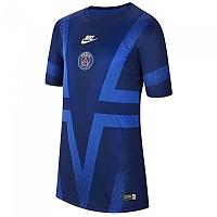 [해외]나이키 Paris Saint Germain Dri Fit Pre Match CL 19/20 Junior Blue Void / Hyper Royal / White
