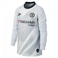 [해외]나이키 Chelsea FC Goalkeeper Breathe Stadium CL 19/20 Junior Pure Platinum / Black / Black