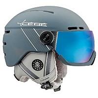 [해외]CEBE Fireball Matt Ciment White / Grey Flash Blue/Cat3 PC Visor Yellow FM/Cat1