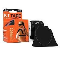[해외]KT TAPE Pro Synthetic Precut Kinesiology Tape Jet Black