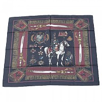 [해외]돌체앤가바나 Medals Print Foulard Dark Red