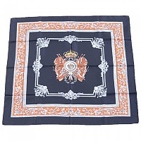 [해외]돌체앤가바나 Shield Flags Print Foulard Black