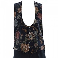 [해외]돌체앤가바나 729627 프린트ed Vest Black