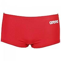 [해외]아레나 Solid Squared Short Red / White