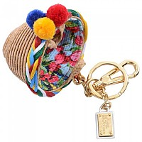 [해외]돌체앤가바나 Basket Keyholder Beige
