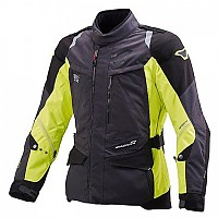 [해외]MACNA Equator Jacket Big Black / Neon Yellow