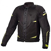 [해외]MACNA Hurracage Jacket Big Black / Neon Yellow