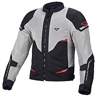 [해외]MACNA Hurracage Jacket Big Light Grey / Black / Red