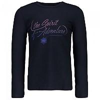 [해외]CMP T-Shirt Black Blue