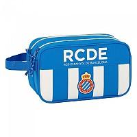 [해외]SAFTA RCD Espanyol Carrying 2 Zippers 4.9L White / Blue