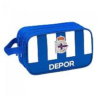 [해외]SAFTA Deportivo De La Coru?a Carrying 2 Zippers 4.9L White / Blue