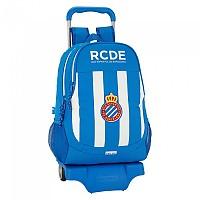 [해외]SAFTA RCD Espanyol 22.5L Wheeled White / Blue