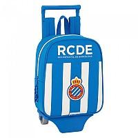 [해외]SAFTA RCD Espanyol Mini 6L Wheeled White / Blue