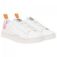 [해외]디젤 Clever Low Lace White / Fluo Pink
