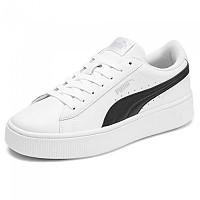 [해외]푸마 Vikky Stacked L Puma White / Puma Black