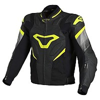 [해외]MACNA Ripper Jacket Big Black / Neon Yellow