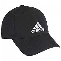 [해외]아디다스 Baseball Lightweight Embroidered Logo Black / White