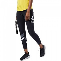 [해외]리복 Workout Ready Big Delta Tights Regular Black